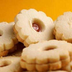 Honey Biscuits with Marmalade