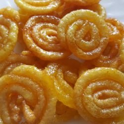 Homemade Jalebi