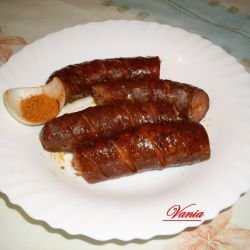 Homemade Grilled Sausage