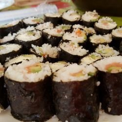 Homemade Sushi with Cream Cheese