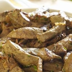 Pork Liver with Leeks