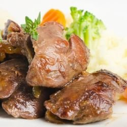 Chicken Livers with Lemon