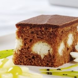 Cake with Coconut and Chocolate