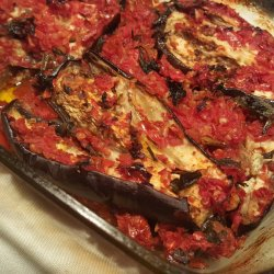 Eggplants with Tomatoes in the Oven
