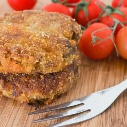 Baked Eggplant Patties