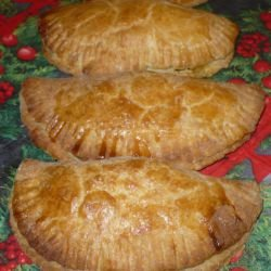 Empanadas with Smoked Pork and Spinach