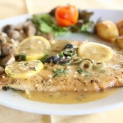 Pork Chops with Lemon Sauce