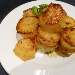 Fondant Potatoes (Oven-Baked Melt in your Mouth Potatoes)