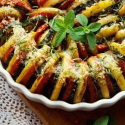 French Tian with Zucchini