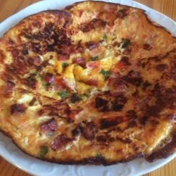 Quick and Spicy Frittata