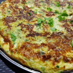 Zucchini and Spinach Frittata
