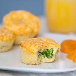 Mini Frittatas with Chicken and Broccoli