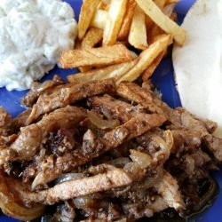 Homemade Gyros with Pork