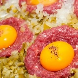 Nests of Minced Meat
