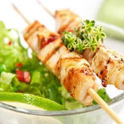Chicken Skewers with Citrus Marinade
