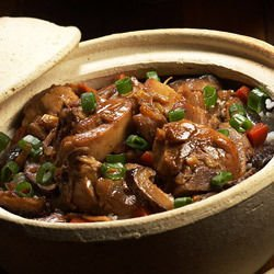 Lamb Offal in a Clay Pot