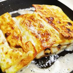 Gozleme with Cheese and Spring Onions