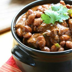 Mutton with Beans