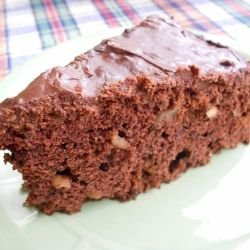 Chocolate Cake with Walnuts