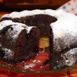 Cocoa Cake with Jam