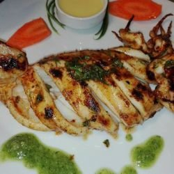 Grilled Squid for Aficioandos