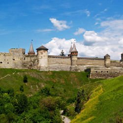 Medieval cities - Kamianets-Podilskyi Castle