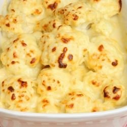 Cauliflower in Béchamel Sauce