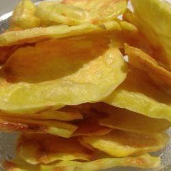 Quick Potato Chips without Frying