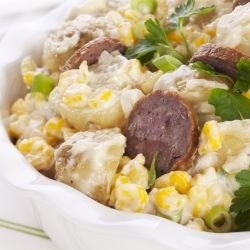 Winter Potato Salad with Chorizo