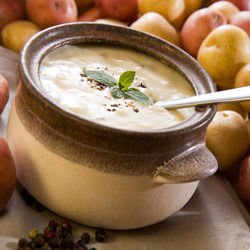 Economic Potato Cream Soup