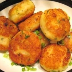 Homemade Potato Meatballs