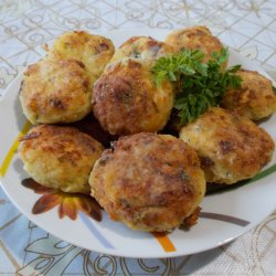Potato Patties with Feta Cheese