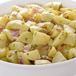 Winter Salad with Potatoes