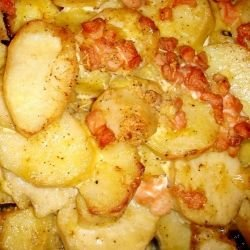 Potatoes with Bacon and Mayonnaise