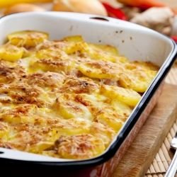 Tasty Gratin with Cheese