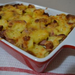 Potato and Sausage Bake