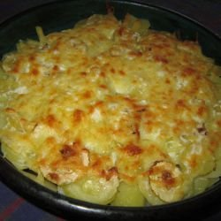 Potatoes with Zucchini in the Oven