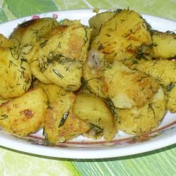Potatoes with Olive Oil