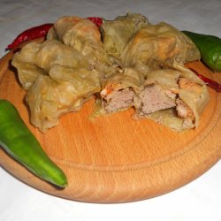 Oven-Baked Butcher`s Sarma with Pork