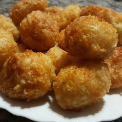 Cheese Balls with Baking Powder