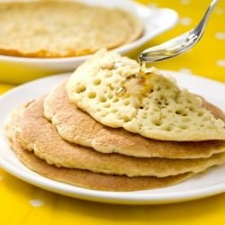 Pancakes with Yeast