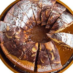 Cake with Cocoa and Yogurt