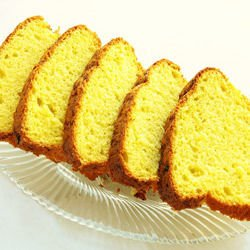 Sponge Cake with Lemon Zest