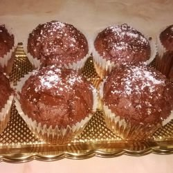 Cocoa and Coconut Cupcakes