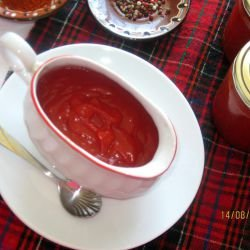 Homemade Ketchup with Fresh Tomatoes