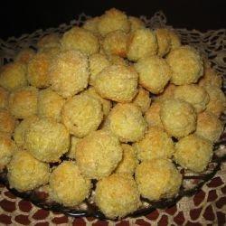 Homemade Coconut Balls