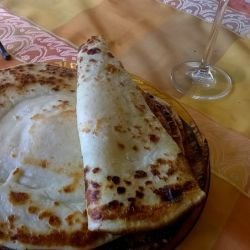 Rhodope-Style Flapjacks in a Clay Dish