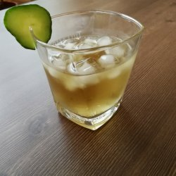 Green Tea and Rum Cocktail