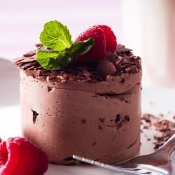 Chocolate Cream with Berries