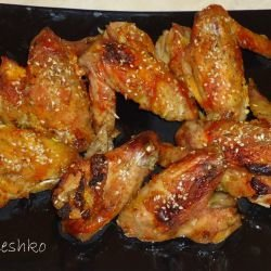 Chicken Wings with Thyme and Sesame